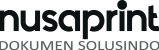 logo nusaprint black